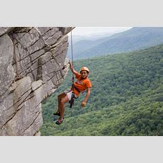 Rock Climbing  Camp Carolina, Brevard, Nc
