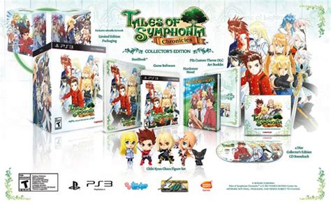 tales symphonia chronicles collectors edition