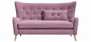 Sofa Und Co : sofa natura 7030 stoffbezug zierkn pfe f e eiche ge lt abmessung ca 171x96x95 cm m bel ~ Orissabook.com Haus und Dekorationen