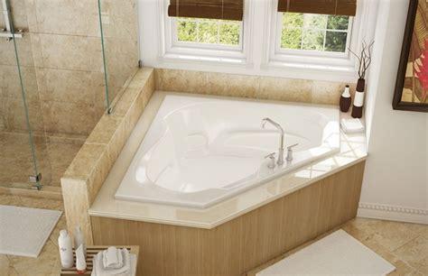 cs60 pearl bath corner whirlpool drop in push button wht