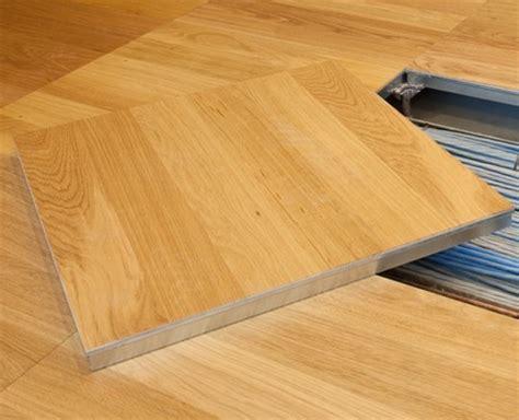 Technical floor coverings, raised access floor linoleum