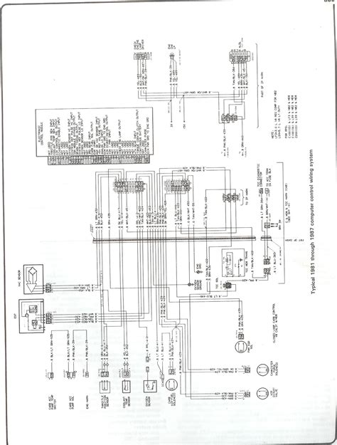 1990 Chevy K5 Blazer Radio Wiring Diagram by Complete 73 87 Wiring Diagrams