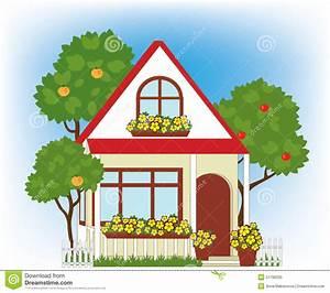 Haus Und Garten Stade : haus und garten vektor abbildung illustration von geb ude 51796333 ~ Orissabook.com Haus und Dekorationen