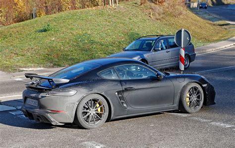 Sixpot 718? New Porsche Cayman Gt4 Spotted By Car Magazine