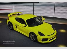 Porsche's Cayman GT4 Track Devil Joins the Party in Geneva