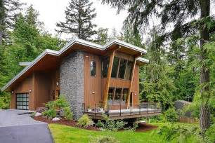 house plans with outdoor living space impressive modern cottage at the base of squak mountain