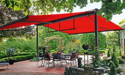 markilux retractable  standing awning installation patio outdoor awnings pergola