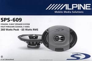 Alpine Sps 609 Wiring Diagram