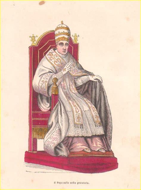 Sedia Papale Sedia Papale Medioevo Papal Chair