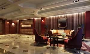 Image Gallery hotel reception interior design