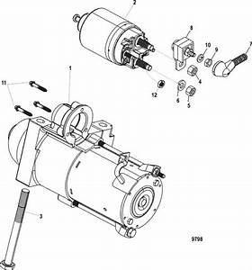 Mercruiser Mx 6 2l Mpi Bravo Starter Motor Parts