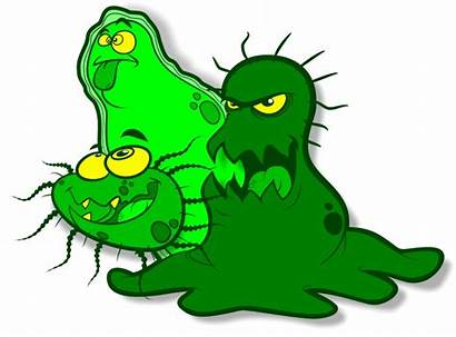 Germs Cartoon Animated Clipart Germ Cliparts Clip
