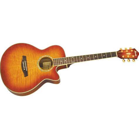 best electric guitar ibanez aeg20e flamed sycamore top acoustic electric guitar