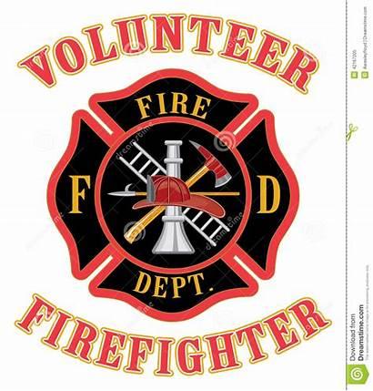 Fire Firefighter Cross Volunteer Department Clipart Maltese