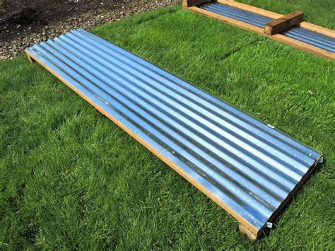 corrugated metal raised garden beds 17 best images about