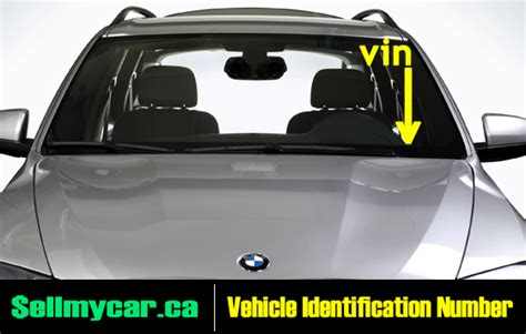 Vin Number On Car by Ontario Vehicle Ownership Vin Number Sell My Car In
