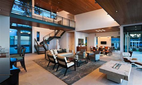 open living house plans modern living room open plan house interior design ideas