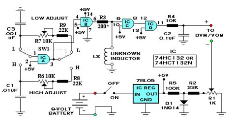 inductance capacitance meter