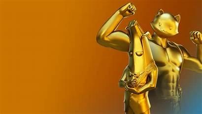 Fortnite Peely Meowscles Skin Gold Agent Season