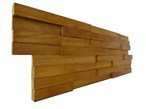 Parement Bois Mural : plaquette de parement mural bois yellow wood prix bas ~ Premium-room.com Idées de Décoration