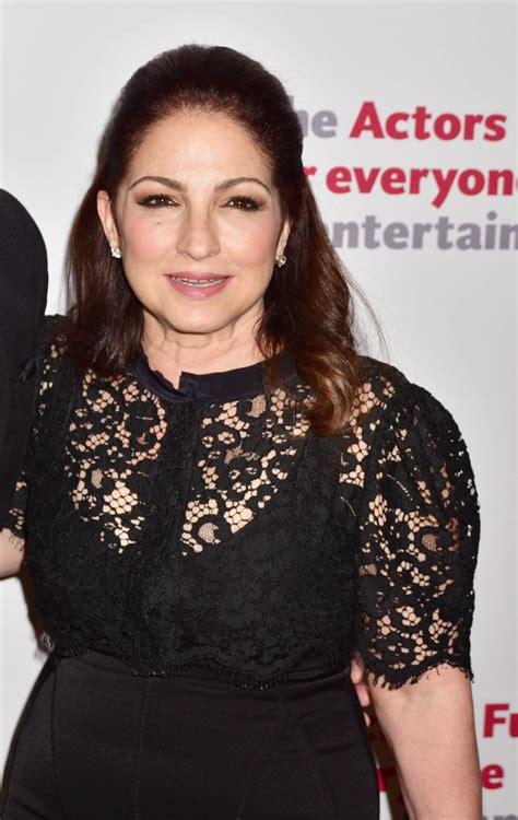 GLORIA ESTEFAN at Actors Fund 2016 Gala in New York 04/25 ...