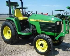 John Deere 4410 Compact Utility Tractor Service Manual