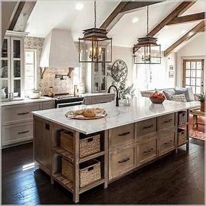 31, The, Best, Farmhouse, Kitchen, Design, Ideas, For, You, Try