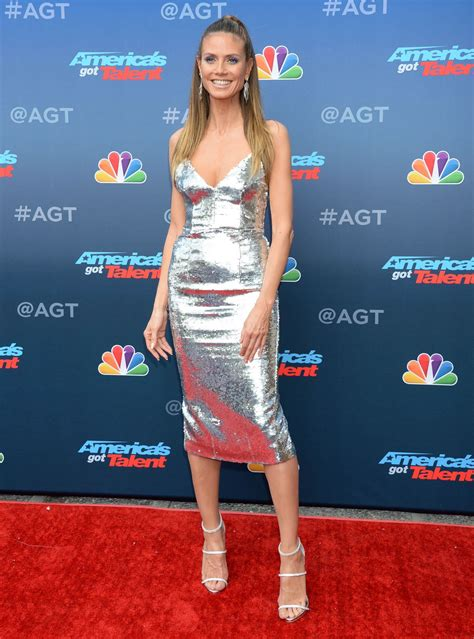 Heidi Klum The America Got Talent Event Celebzz