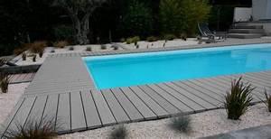 les lames de terrasse en bois composite pour border votre With terrasse piscine semi enterree 9 piscine les 3 tendances de cet ete elle decoration