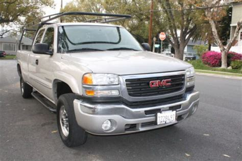 automobile air conditioning service 2006 gmc sierra 2500 lane departure warning buy used 2006 gmc sierra 2500 hd sle ext cab pu 4 door 6