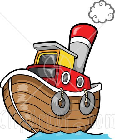 Tugboat Clipart by Yellow Tug Boat Clipart Clipart Panda Free Clipart
