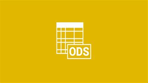 open  ods file  windows  pc