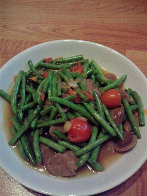 tumis kacang panjang ala masakanrumah vegetable