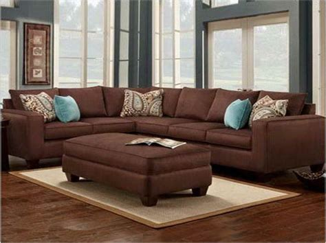 chocolate brown couch ideas  pinterest brown
