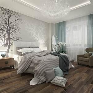 Ideen schlafzimmer gestaltung grau weiss wandgestaltung for Schlafzimmer weiß grau