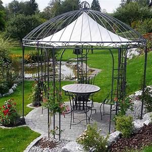 Pavillon Für Garten : prachtvolle pavillons aus handgeschmiedetem eisen ~ A.2002-acura-tl-radio.info Haus und Dekorationen