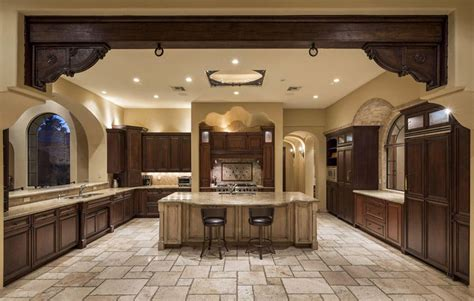 kitchen island with 4 stools 35 luxury mediterranean kitchens design ideas