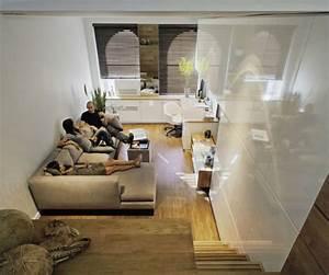 Küche Und Wohnzimmer In Einem Kleinen Raum : schlaf wohnzimmer einrichten ~ Markanthonyermac.com Haus und Dekorationen