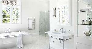 Hamptons-style bathroom Home Beautiful Magazine Australia