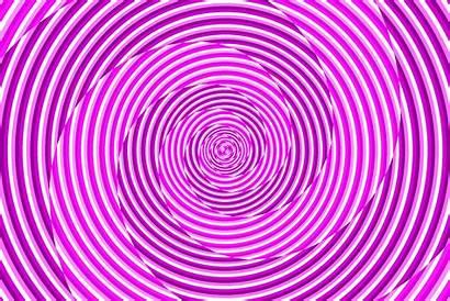 Swirl Spiral Hypnosis Pink Golden Deviantart Laugh