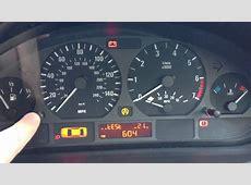 BMW E46 318i Dashboard Fault YouTube