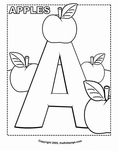 Letter Coloring Pages Olds