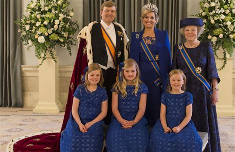 The Golden Age: Inauguration Gown of Queen Maxima of the ...