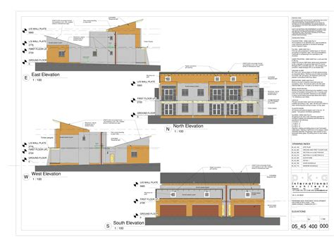 lynnwood apartments elevations danie joubert