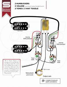Seymour Duncan Wiring Diagrams Series