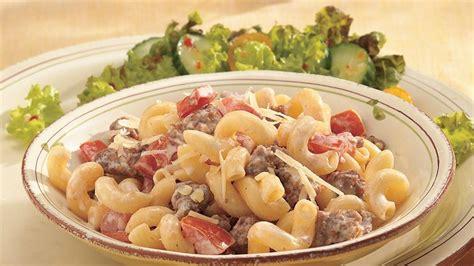 and easy italian pasta recipes easy italian pasta recipe from pillsbury com