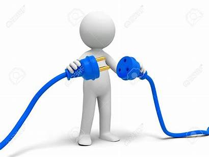 Clipart Connects Connection Cable Connecting Plug Person