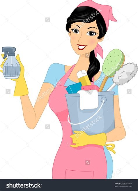 Cleaning Ladies Clipart Clipground