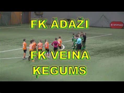 FK ĀDAŽI - FK VEINA ĶEGUMS SPORTLAND KAUSS 18.01.2020 ELEKTRUM OLIMPISKAIS CENTRS RĪGA ...