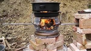 Ofen Aus Gasflasche : outdoorcooking mit einem autofelgen ofen youtube ~ Watch28wear.com Haus und Dekorationen